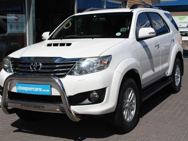 2012 Toyota Fortuner 3.0d-4d Rb  Western Cape Bellville_0