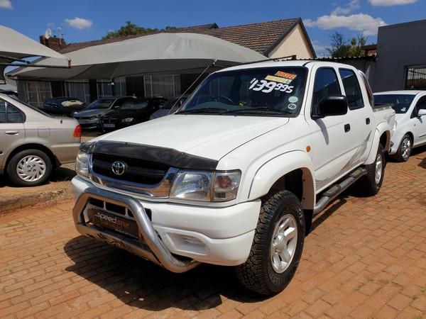 2004 Toyota Hilux 3000kz-te Raider Dc LEGEND 35 Gauteng Boksburg_0