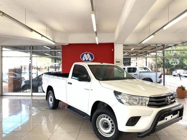 2016 Toyota Hilux 2.4 GD-6 SRX 4X4 Single Cab Bakkie Gauteng Vereeniging_0