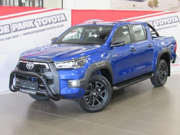2021 Toyota Hilux 2.8 GD-6 RB Legend Double Cab Bakkie Gauteng Sandton_0
