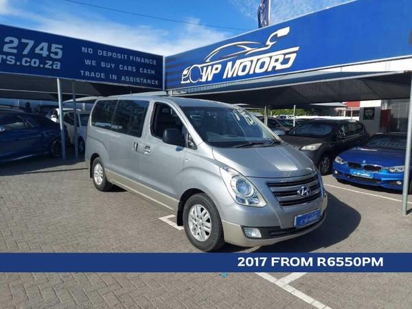 2017 Hyundai H-1 2.5 CRDi  Elite Auto Western Cape Bellville_0