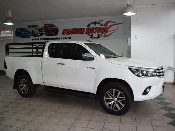2018 Toyota Hilux 2.8 GD-6 Raider 4X4 PU ECAB Gauteng Nigel_0