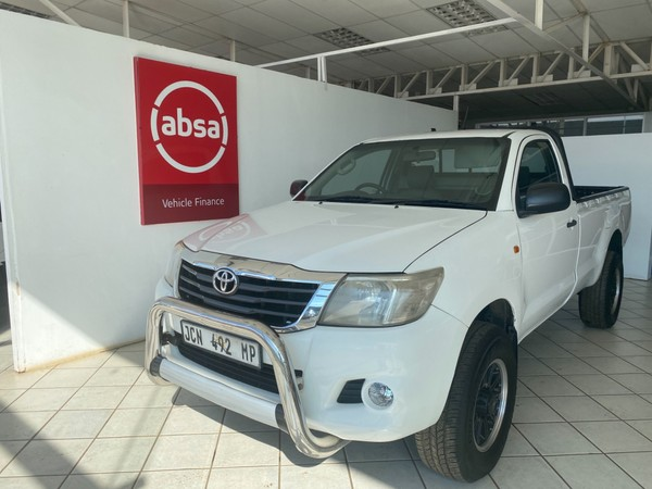 2014 Toyota Hilux 2.5 D-4d Srx 4x4 Pu Sc  Mpumalanga Lydenburg_0