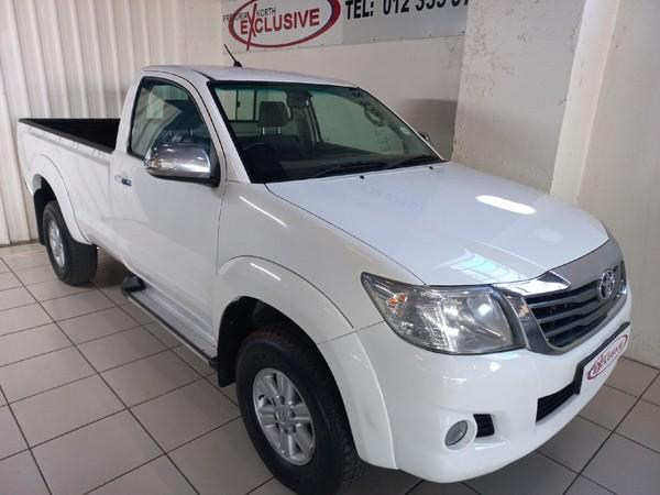 2015 Toyota Hilux 2.0 Vvti Pu Sc  Gauteng Pretoria_0