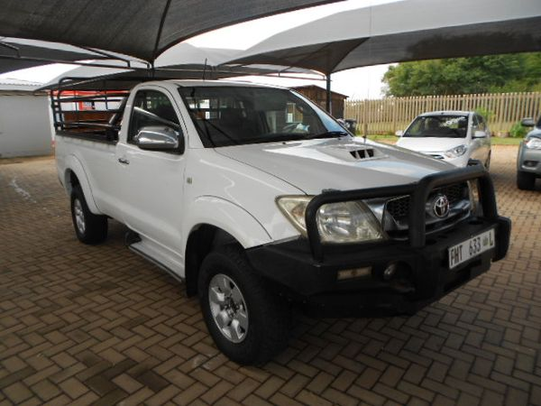2011 Toyota Hilux 3.0 D-4d Raider 4x4 Pu Sc  Gauteng Pretoria_0