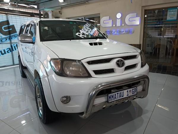 2007 Toyota Hilux 3.0D-4D Raider Pu Dc Gauteng Edenvale_0