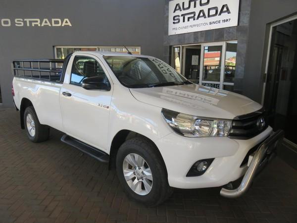 2018 Toyota Hilux 2.4 GD-6 SRX 4X4 Single Cab Bakkie Gauteng Pretoria_0