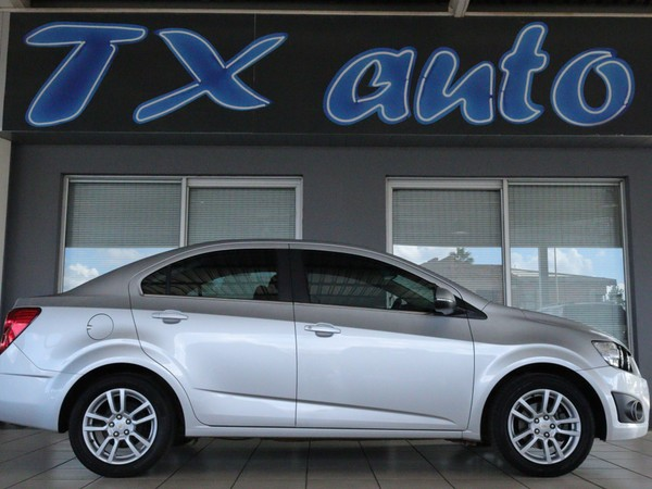2015 Chevrolet Sonic 1.6 Ls  North West Province Potchefstroom_0