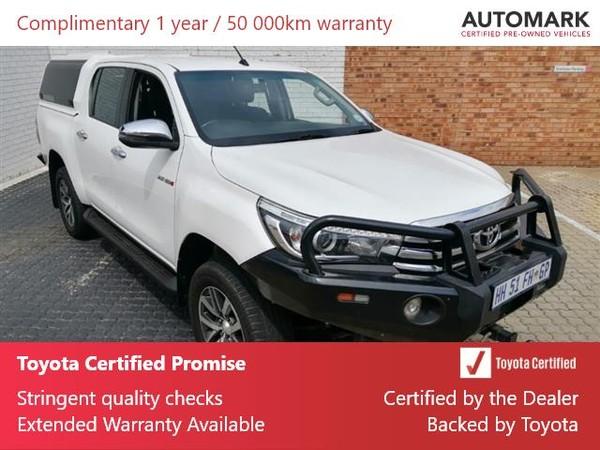 2018 Toyota Hilux 2.8 GD-6 Raider 4X4 Double Cab Bakkie Auto Gauteng Boksburg_0