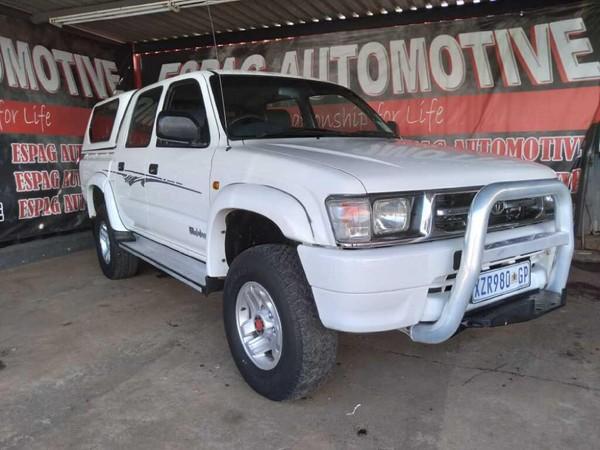2001 Toyota Hilux 3000 KZ-TE Raider 4x4 Double-Cab Gauteng Pretoria_0
