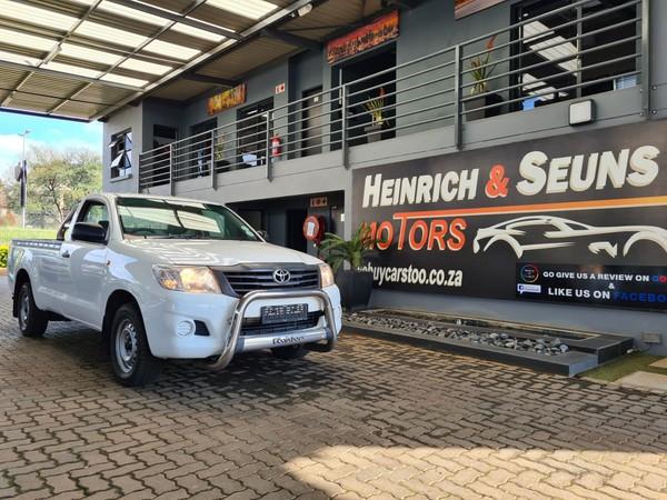 2012 Toyota Hilux 2.0 Vvti Pu Sc  Gauteng Pretoria_0