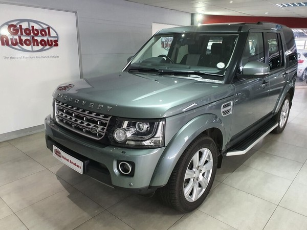 2015 Land Rover Discovery 4 3.0 Tdv6 Hse  Gauteng Roodepoort_0