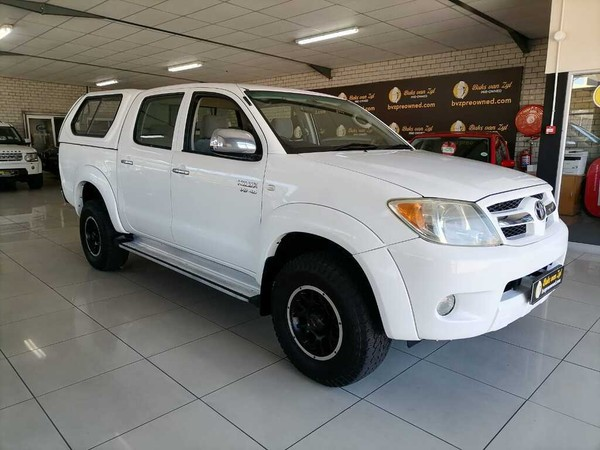2008 Toyota Hilux 4.0 Raider 4x4 Pu Dc  Western Cape Paarl_0