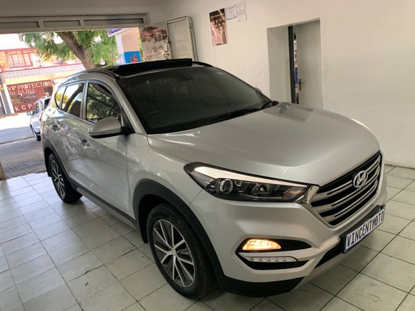 2017 Hyundai Tucson 2.0 CRDi Executive Auto Gauteng Johannesburg_0