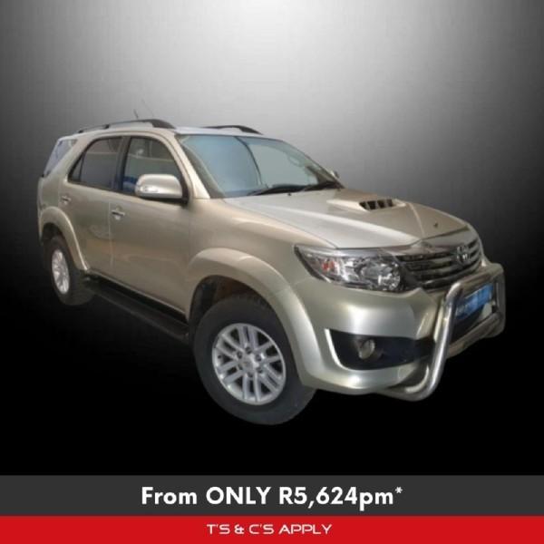 2012 Toyota Fortuner 3.0d-4d Rb At  Gauteng Westonaria_0