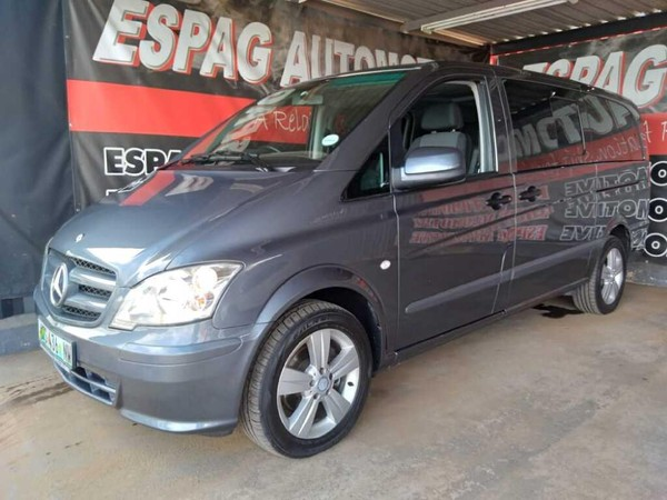2014 Mercedes-Benz Vito 116 Cdi Crewbus  Gauteng Pretoria_0
