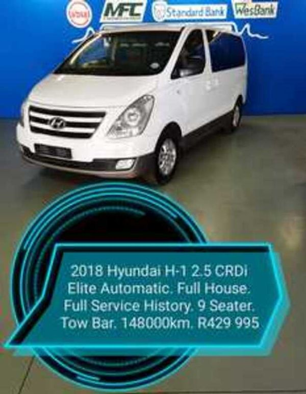 2018 Hyundai H-1 2.5 CRDI Wagon Auto Western Cape Parow_0