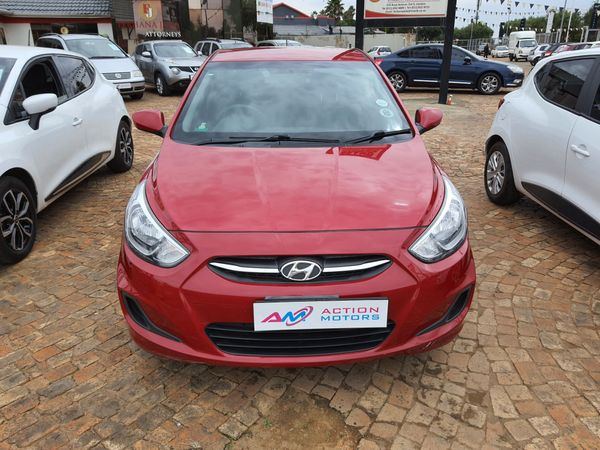 2017 Hyundai Accent 1.6 Gls  Gauteng Lenasia_0