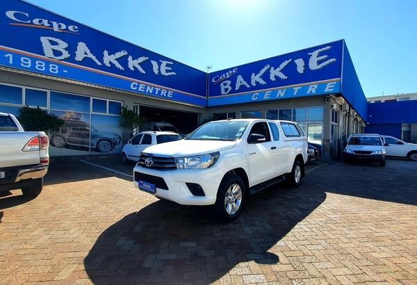 2017 Toyota Hilux 2.4 GD-6 RB SRX Extended Cab Bakkie Western Cape Parow_0