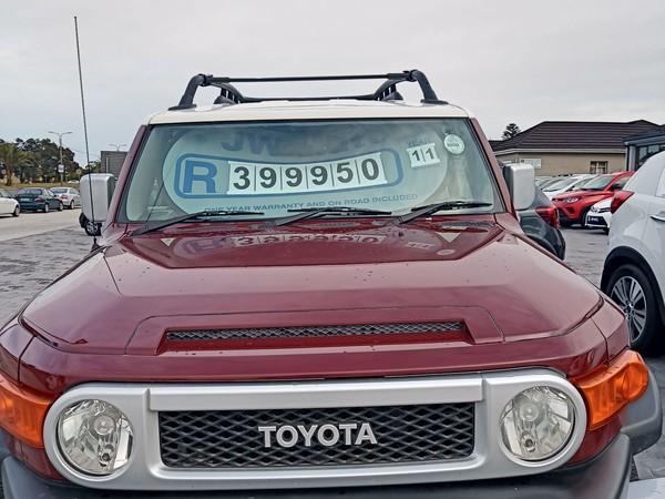 2011 Toyota Land Cruiser Discount of R50 000  FJ 4.0 V6 Auto Eastern Cape Port Elizabeth_0