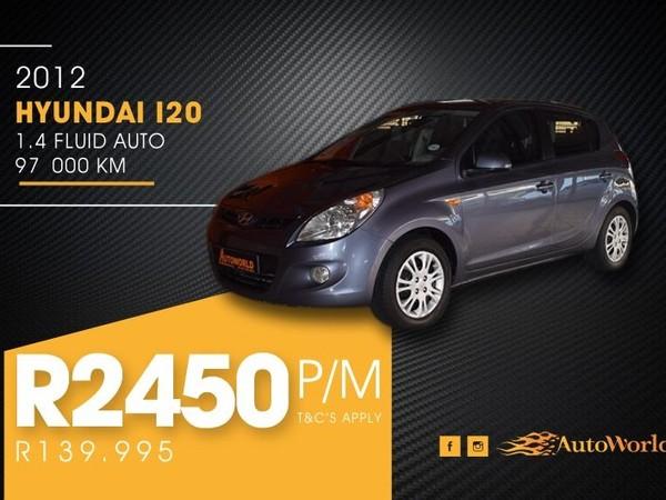 2012 Hyundai i20 1.4 Fluid At  Western Cape Goodwood_0