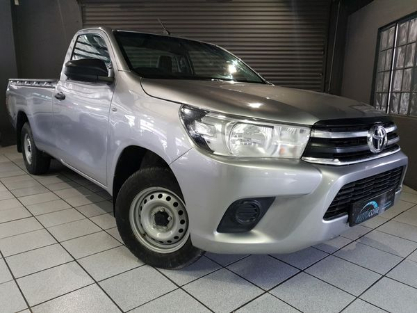 2018 Toyota Hilux 2.4 GD AC Single Cab Bakkie Gauteng Bryanston_0