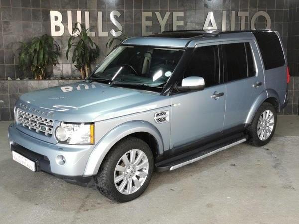 2012 Land Rover Discovery 4 3.0 Tdv6 Hse  Gauteng Silverton_0
