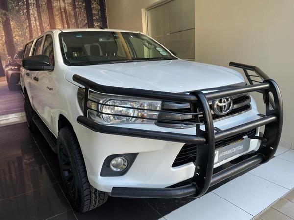 2016 Toyota Hilux 2.4 GD-6 SRX 4x4 Double Cab Bakkie Gauteng Midrand_0