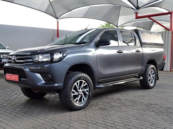 2016 Toyota Hilux 2.4 GD-6 SR 4X4 Double Cab Bakkie Gauteng Pretoria_0