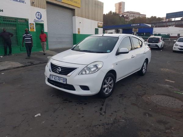 2014 Nissan Almera 1.5 Acenta Auto Gauteng Johannesburg_0