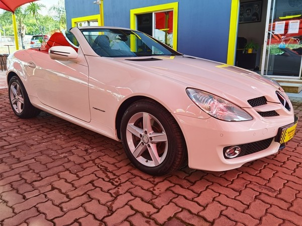 2010 Mercedes-Benz SLK Slk 200 Kompressor At  Gauteng Randburg_0
