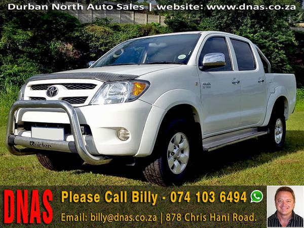 2007 Toyota Hilux 2.7vvt-i Raider Pu Dc  Kwazulu Natal Durban North_0
