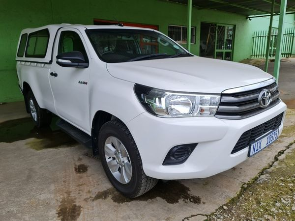 2016 Toyota Hilux 2.4 GD-6 RB SRX Single Cab Bakkie Gauteng_0