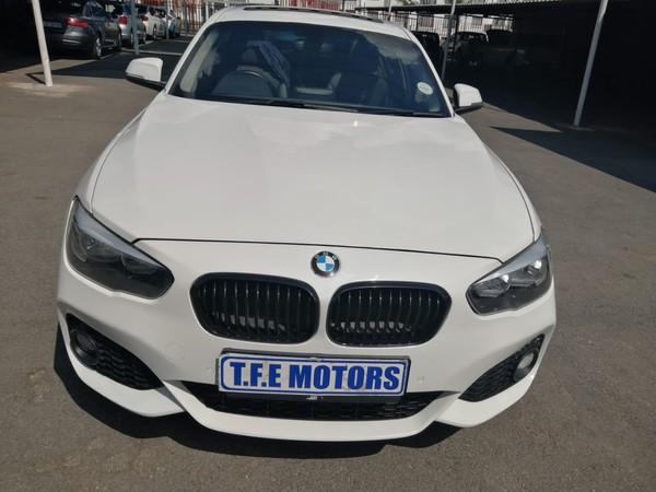 2016 BMW 1 Series 118i Sport Line 5DR Auto f20 Gauteng Sandton_0