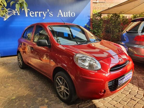2012 Nissan Micra 1.2 Visia 5dr d82  Gauteng Edenvale_0
