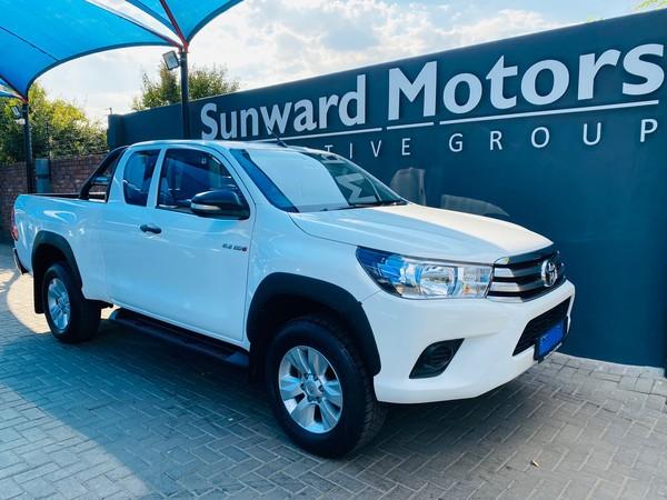 2016 Toyota Hilux 2.4 GD-6 RB SRX Extended Cab Bakkie Gauteng Pretoria_0