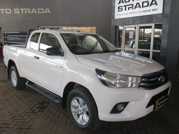 2018 Toyota Hilux 2.4 GD-6 RB SRX Extended Cab Bakkie Gauteng Pretoria_0
