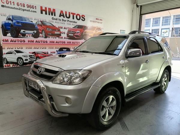 2008 Toyota Fortuner 3.0 D4D 4X4 Gauteng Johannesburg_0