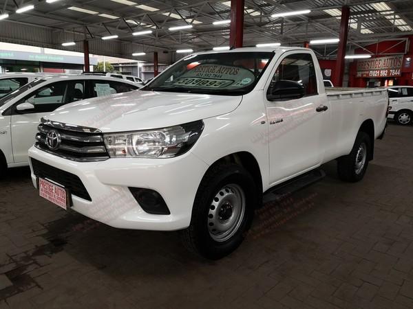 2016 Toyota Hilux 2.4 GD-6 Raised Body SRX Single-Cab Western Cape Goodwood_0
