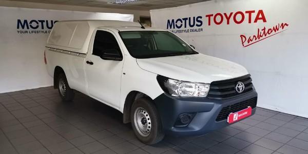 2021 Toyota Hilux 2.4 GD S AC Single Cab Bakkie Gauteng Johannesburg_0