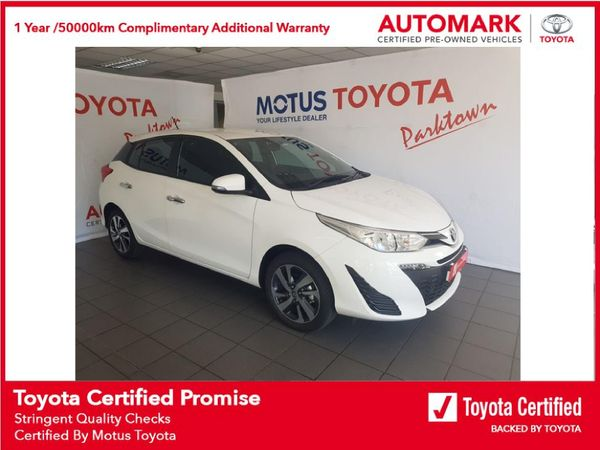 2021 Toyota Yaris 1.5 Xs CVT 5-Door Gauteng Johannesburg_0