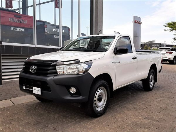 2019 Toyota Hilux 2.4 GD-6 SR Single Cab Bakkie Gauteng Sandton_0