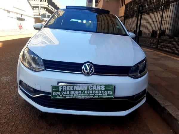 2016 Volkswagen Polo GP 1.2 TSI Comfortline 66kW Gauteng Johannesburg_0
