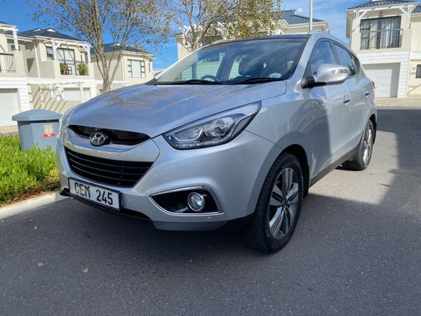 2014 Hyundai ix35 2.0 Elite Auto Western Cape Hermanus_0