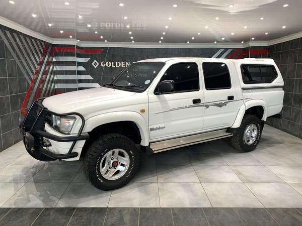 2000 Toyota Hilux 3000kz-te Raider 4x4 Pu Dc  Gauteng Pretoria_0