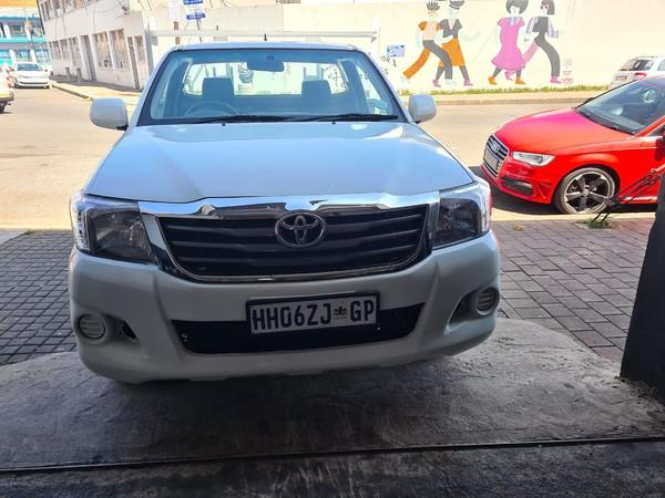 2013 Toyota Hilux 2.0 VVTi S Single-Cab Gauteng Jeppestown_0