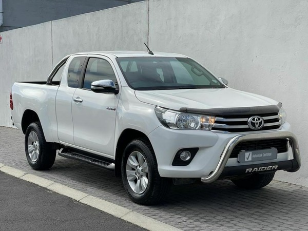 2016 Toyota Hilux 2.8 GD-6 RB Raider Extended Cab Bakkie Western Cape Table View_0