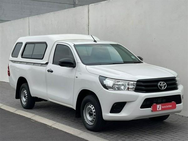 2018 Toyota Hilux 2.0 VVT Single Cab Bakkie Western Cape Table View_0