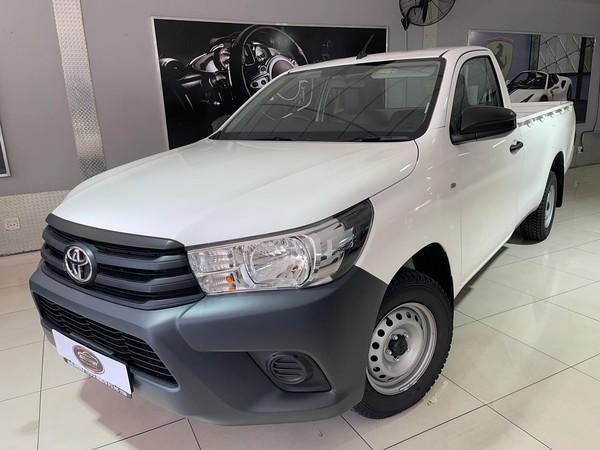 2021 Toyota Hilux 2.0 VVT Single Cab Bakkie Gauteng Benoni_0