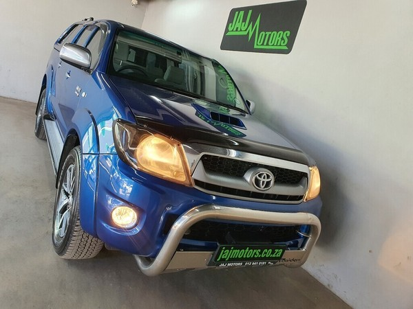 2009 Toyota Hilux 3.0d-4d Raider Rb At Pu Dc  Gauteng Pretoria_0